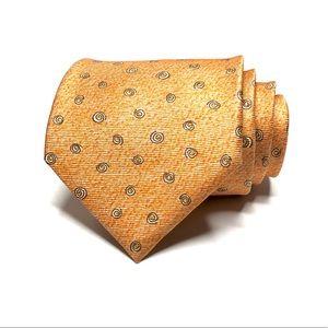 Bvlgari 7 Fold Davide Pizzigoni Silk Tie